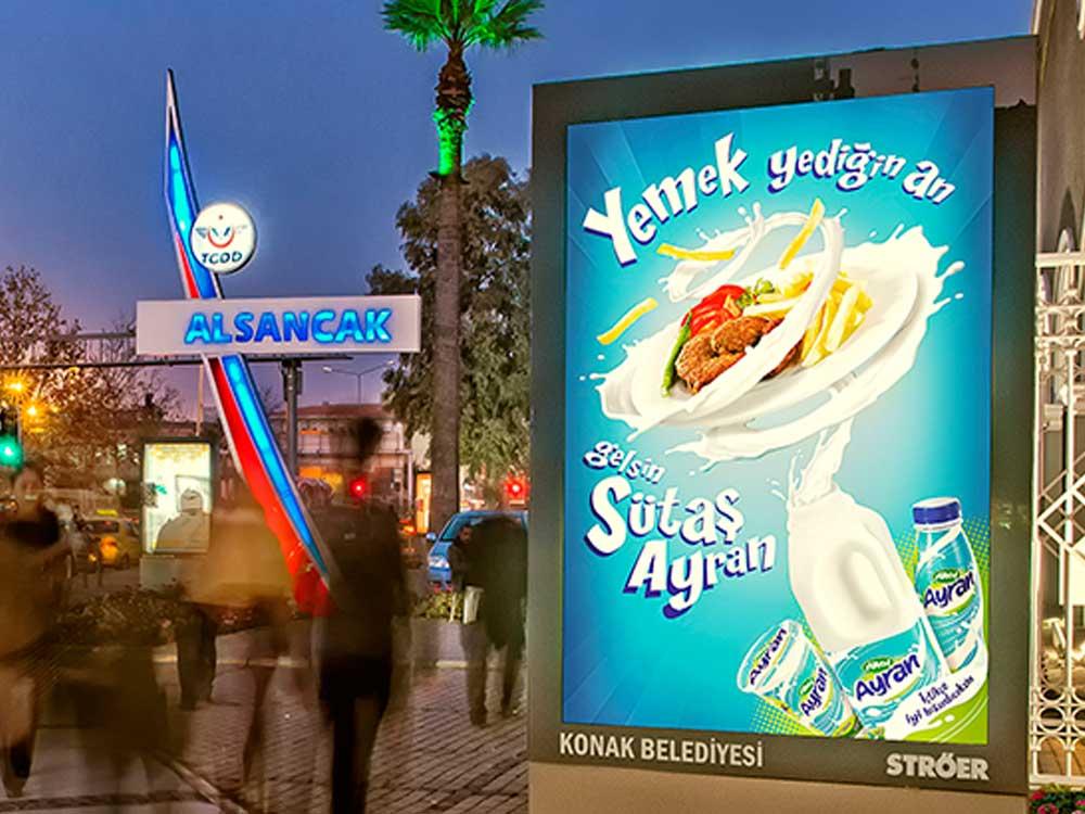 Bursa bilboard reklamı