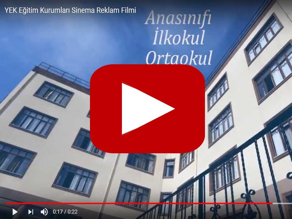 YEK Eğitim Kurumları Sinema Reklam Filmi